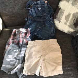 Other - Boys 12 month shorts bundle GUC